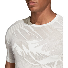 adidas Ultra Primeknit Parley - T-shirt manches longues running Homme - blanc